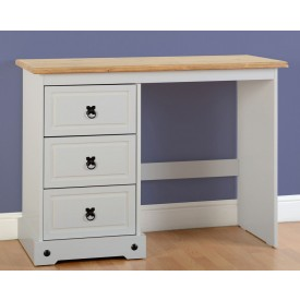 Corona Grey 3 Drawer Dressing Table