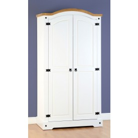 Corona White 2 Door Robe