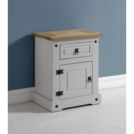 Corona Grey Bedside Chest