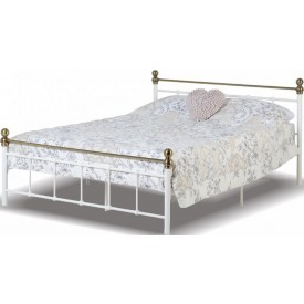Marlberg White Bed Frame