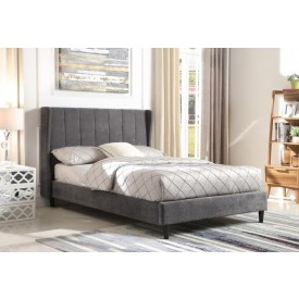 Dark Grey Hotel Bed Frame