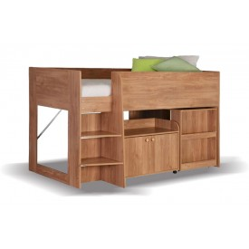 Astral Oak Cabin Bed