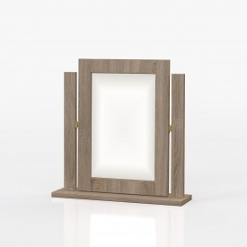 Avenue Truffle Oak Mirror