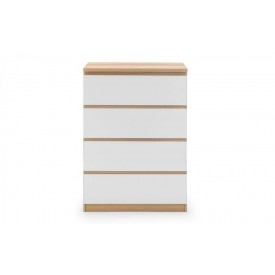 Eternal White 4 Drawer Chest