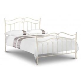 katrina stone white kingsize bed frame