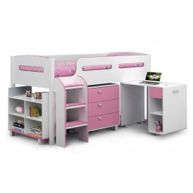 Kelvin Cabin Bed In Pink