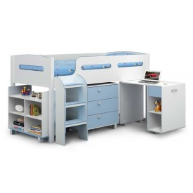 Kelvin Cabin Bed In Blue