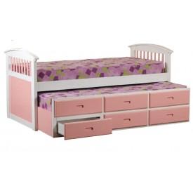 Kipling Pink Captains Bed