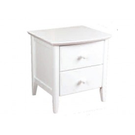 Kipling White Bedside Chest