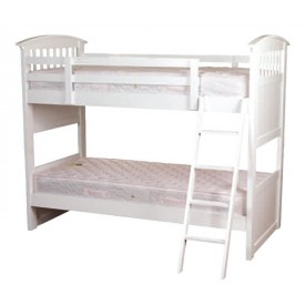 Kipling White Bunk Bed