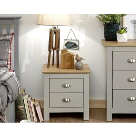 Lancashire Grey Bedside Cabinet
