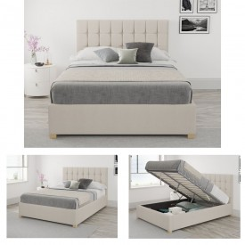 Larry Ottoman Bed Frame