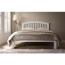 Leigh White Bed Frame