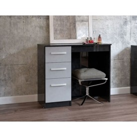 Links High Gloss Grey Dressing Table