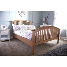 Madrillo Natural High Foot Bed Frame