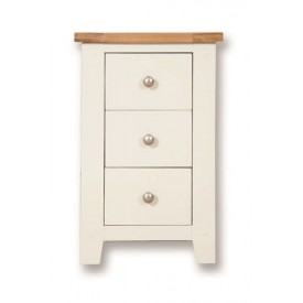 Melrose Ivory Bedside Chest