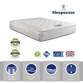 Sleepeezee Memory Comfort 1000 Double Mattress
