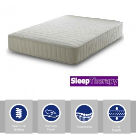 Sleeping Therapy Memory React Super Kingsize Mattress