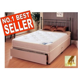 Memory Plus Double End Drawer Divan Bed