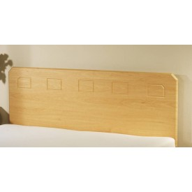 Miami Beech Effect Small Single Headboard