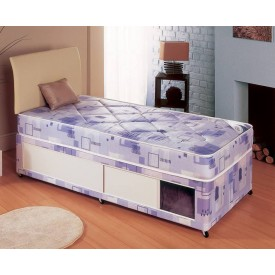 Milan Small Single Slidestore Divan Bed