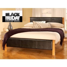 Mira Double Bed Frame Black Friday