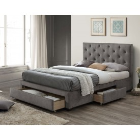 Moonset Three Drawer Bed Frame
