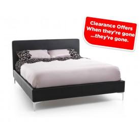 Monsa Black Super Kingsize Bed Frame Sale Price
