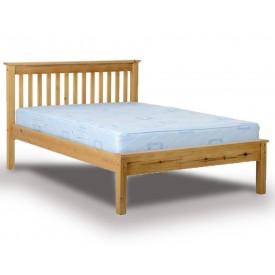 Monty Low Foot Double Pine Bed Frame