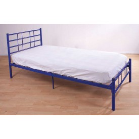 Morgan Blue Single Bed Frame
