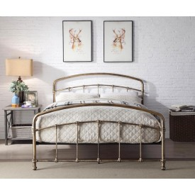Bostin Bronze Bed Frame