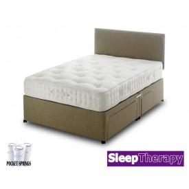 Natural Sleep 1800 Super Kingsize Divan Bed