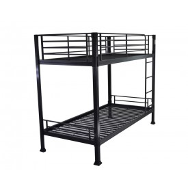 Super Strong Black Bunk Bed