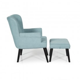 Duck Egg Blue Oban Occasional Chair