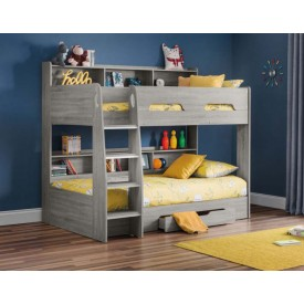 Orbit Grey Oak Bunk Bed