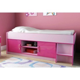 Ottawa Pink Two Tone Cabin Bed