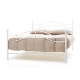 Parisienne White Three Quarter Bed Frame