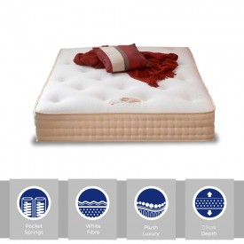 Pasha Pocket 1000 Super Kingsize Mattress