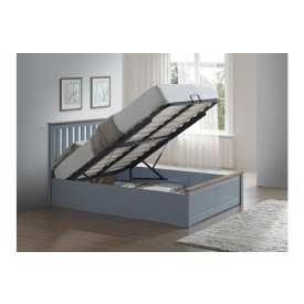 Flame Stone Grey Bed Frame