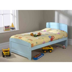 Rainbow Blue Single Bed Frame