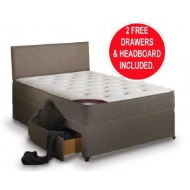Regal Sleep Kingsize 2 Drawer Divan Bed