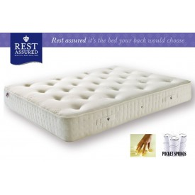 Rest Assured Hartwood 800 Pocket Memory Single Mattress