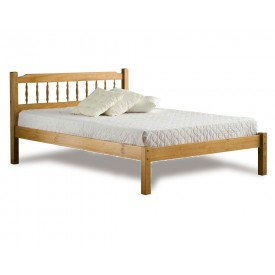 Santos Three Quarter Pine Bed Frame