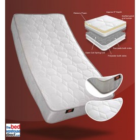 Ecocoil Orthppaedic Memory Mattress