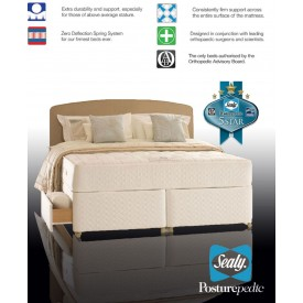 Sealy Backcare Elite Three Quarter 4 Drawer Divan Bed