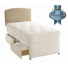 Sealy Essentials Firm Single 2 Drawer Bed