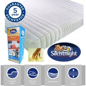 Silentnight Memory Mattress Now Double Mattress
