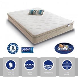 Silentnight Select Cushion Top Single Mattress