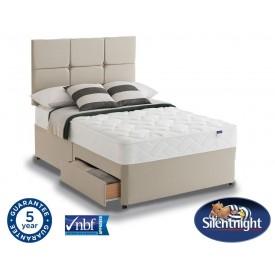 Silentnight Essentials Easycare Double 2 Drawer Divan Bed