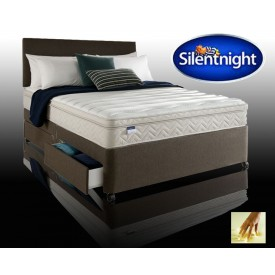 Silentnight Oslo Super Kingsize Non Storage Divan With Memory Fo